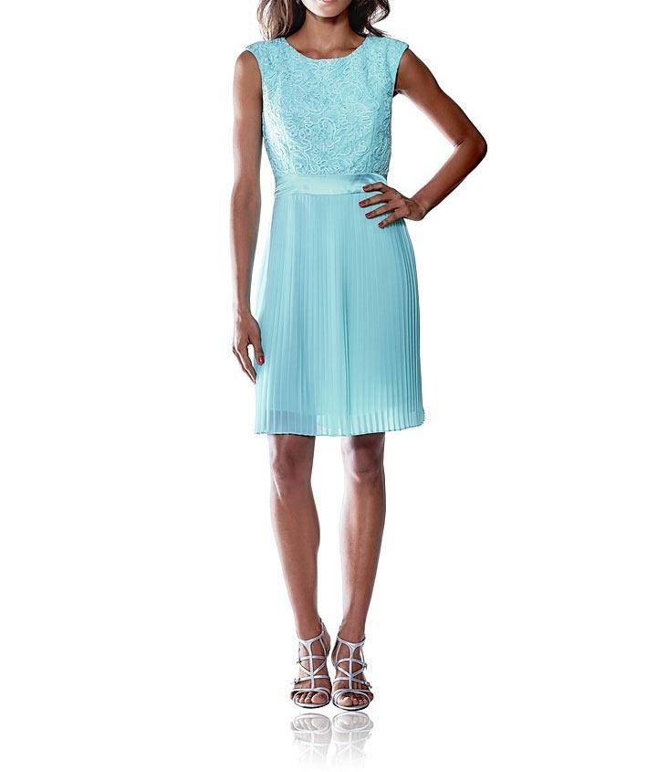 515599acf6 Ashley Brooke elegancka sukienka niebieska · Ashley Brooke elegancka  sukienka niebieska plisowana ...