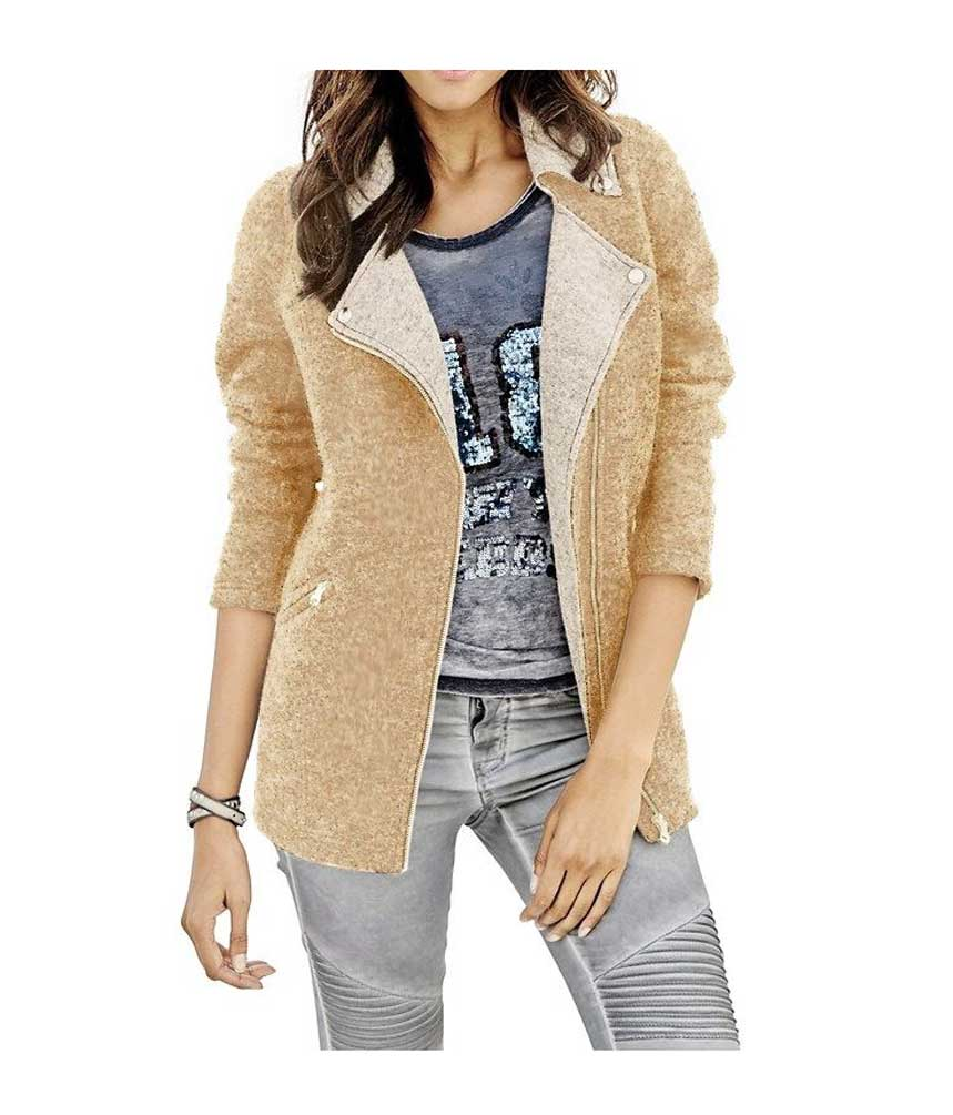 Ogromny Stylowa wełniana kurtka damska z kolekcji jHEINE QE88