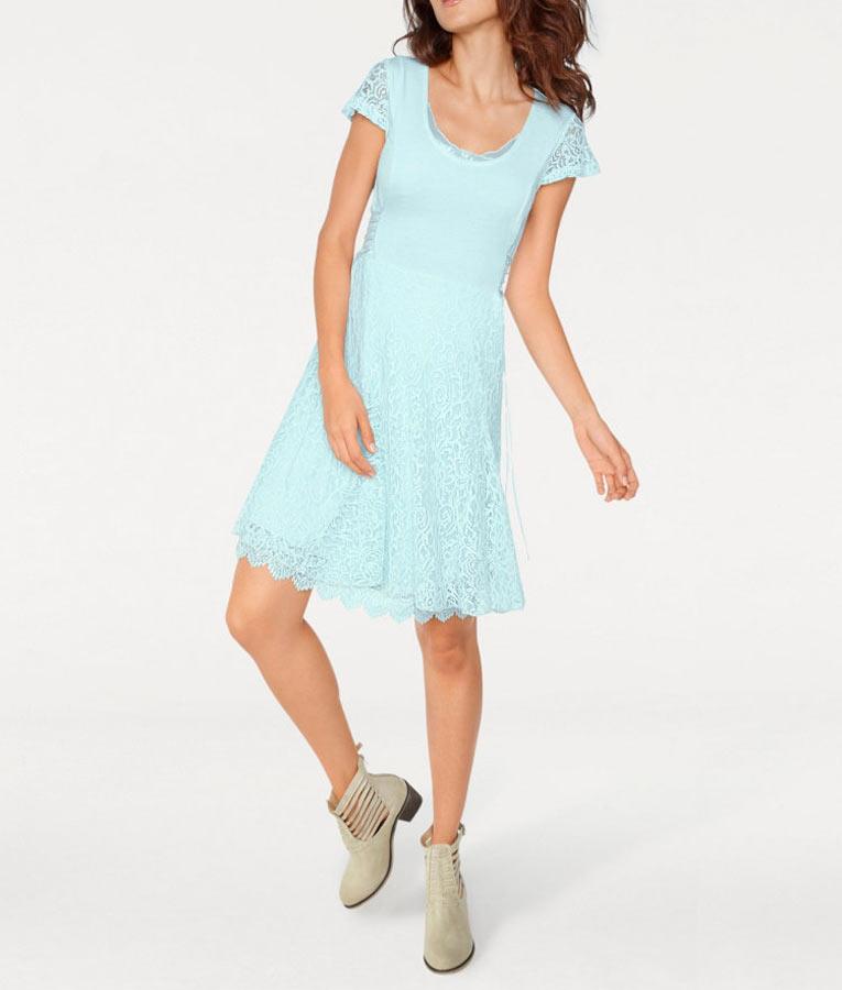 bf570aabdc Linea Tesini sukienka damska miętowa